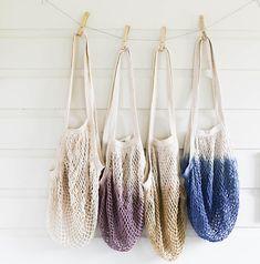 Net Bag, Crochet Tote Bag, Bag for Produce, Mesh Bag, Reusable Grocery Bag, Farmers Market Bag, Fishnet Bag, String Bag, Crochet Bag,Cotton