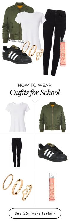 """""""Second Day Of School"""" by diavianshanelle on Polyvore featuring WearAll…"""