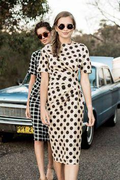 Walk and Talk Dress - Shabby Apple