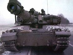 Challenger 2 on night exercise. - Image - Army Technology