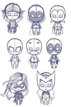Marvel chibis by Shadowdream-was-here.deviantart.com on @deviantART: