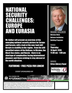 4/14/16 11:30-1:00 Criss Library Foyer