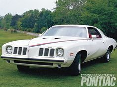 1973 Pontiac Grand Am SD-455 We had a four door when I was young...