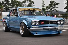 SPEED JUNKIE Nissan GC10 Skyline // at Oiso Long Beach