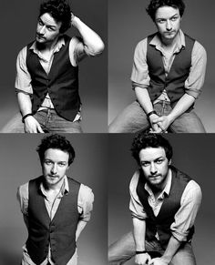 guys in vests... <3 James MacAvoy