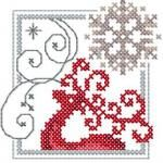 Christmas Snowflake cross stitch free embroidery design - Machine embroidery forum Size: 2.76 x 2.91'