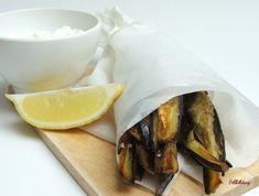 Sumac padlizsán chips joghurttal – Felhőlány Chips, Potato Chip, Potato Chips