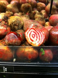 Red Ring Beets at Super King.  Only wish I knew how to cook! #vegetarian, #vegan #grocerystore #grocerystores