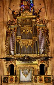 2008 Grenzing organ at Convent de Sant Francesc, Palma, Spain