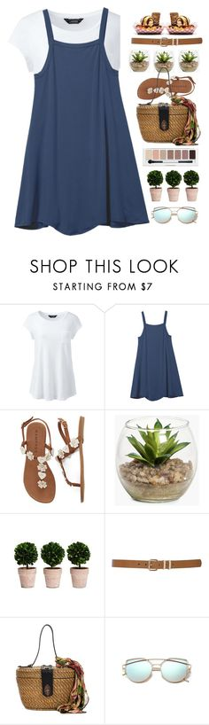 """""""Untitled #2318"""" by countrycousin ❤ liked on Polyvore featuring Lands' End, RVCA, Boohoo, M&Co, Patricia Nash and plus size clothing"""