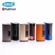 >> Click to Buy << 100% Original Sigelei Fuchai 213 Box Mod SS/TI/NI200/TCR/TFR Modes 10w-213W 0.1-3.0ohm Fuchai 213w TC Mod #Affiliate