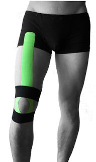 ARES Kinesiology Tape: Patella Pain