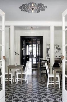 Restaurant Strand   Stabekk, Norway #laurenmaximovich #interiordesign #restaurant