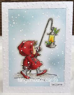 Sue:  Lili of the Valley Light the Way; Copic Markers: Marianne embossing folder; MFT dies