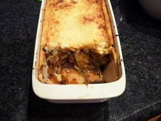 The Empty Plate: Lentil & Mushroom Moussaka - Hot Greek