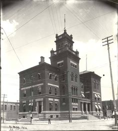 Historic Federal Courthouses El Paso, Texas U.S. Custom House, Post Office, and Court House (1900) Completed in 1892