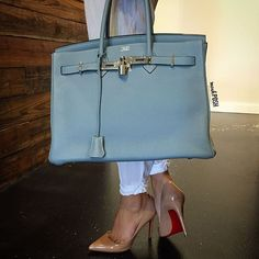 Weekend Classics! Hermes Birkin Bag paired with Christian Louboutin Pigalle 100 Pumps! Both available to purchase on www.mymoshposh.com! #weekendstyle #weekendclassics #fashion #trendy #luxury #hermesbirkin #christianlouboutin #louboutinworld #redbottoms #purselover #shoelover #purseblog #bagsofTPF #moshposhfinds #mymoshposh #designerhandbags #designerconsignment