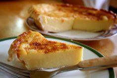 Egg Pie - A Filipino dessert that resembles an egg custard.