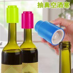 抽真空酒瓶塞红酒塞葡萄酒真空塞香槟酒瓶啤酒调味瓶密封保鲜瓶盖