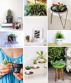 Poppytalk: Weekend Project | 9 DIY Spring Planters + Ideas