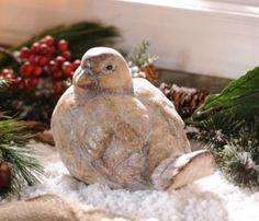 Vintage Ceramic Bird Statue #kirklands #seasonaldecor