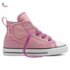 Converse Chuck Taylor All Star Simple Step High Baskets kleinkinder    - rosa / pink / weiß - Chaussures converse (*Partner-Link)