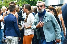 Love the shirt/jacket ~ Old Man Fancy.