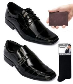 780cb5867c Kit 2 Sapatos Sociais Selten + Carteira e Meia de Brinde