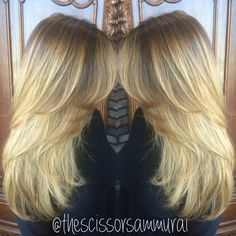 Ombre balayage Off 7th Salon