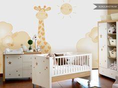 Papel de pared mural XuxuLanstrum modelo Girafa
