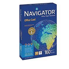 Navigator 118615 - Pack de 250 hojas de papel para fotocopiadora, A4, 160 gr