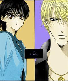 Skip Beat Kyoko and ren jealous | Skip beat - Kyoko and Sho by Azalea92