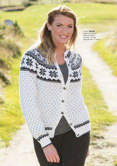 Katalog 1416 - Viking of Norway Fair Isle Knitting, Hand Knitting, Viking Designs, Alpacas, Cardigans For Women, Mantel, Vikings, Free Pattern, Knitwear