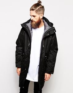 ASOS+2+In+1+Longline+Parka+Jacket