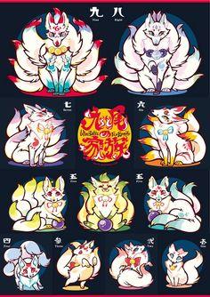 Kitsune family.
