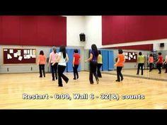 Walk The Moon - Line Dance (Dance & Teach in English & 中文) - YouTube