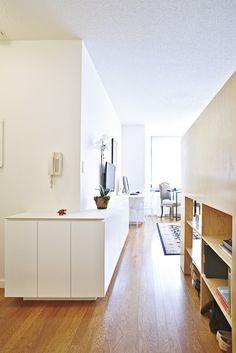 A Studio Apartment that Doesn't Feel Like a Big Bedroom - LifeEdited