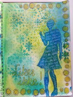 Art Journaling av Wibeke