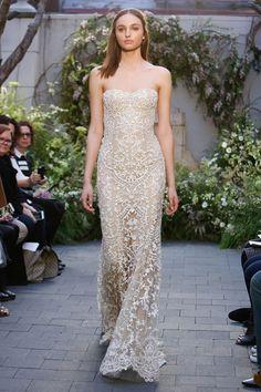 Monique Lhuillier 2017 wedding dress collection - Brides reviews collection from New York Bridal Fashion Week April 2016 (BridesMagazine.co.uk)