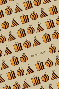 Bee different! :3 Punny- wallpaper app