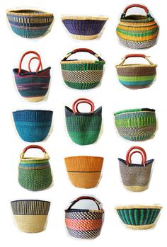 Basket/bags like these are everywhere here in Uganda. And insanely cheap. I guess I know what I need to purchase before going back to Canada!