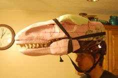 Velociraptor Head 2 by neonrelics.deviantart.com on @deviantART