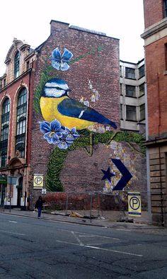 Tehran in Manchester graffiti or art? s banksy Graffiti 3d Street Art, Urban Street Art, Murals Street Art, Amazing Street Art, Street Art Graffiti, Street Artists, Urban Art, Land Art, Banksy