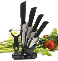 Household Antibacterial Kitchen Knives Sharp Ceramic Fruit Knife Rustless Bar Dining Knife Sets Free Shipping
