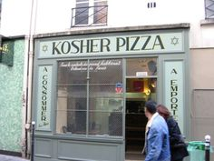 Kosher pizza (Marais)