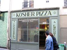 Kosher pizza (Marais)