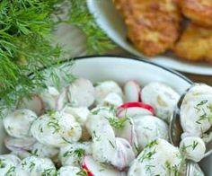 Sałatka z młodych ziemniaków- pyszna do grilla