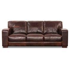 Aspen All Leather Sofa 1G-4442S