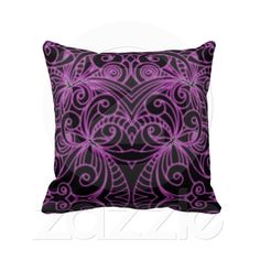 Pillow Floral abstract background from Zazzle.com
