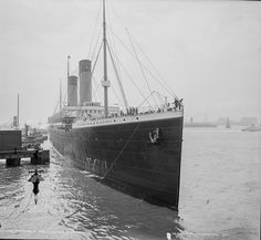 RMS Oceanic, the largest ship in the world at the time of it's launch in 1899, but whose career lasted only until 1914 when she ran aground in the Shetlands and was smashed to pieces by a storm. What was left above the water was cut down to water level in 1924, while in 1973 more of the hull was removed. It wasn't until 1979 that the last pieces of the hull were removed.